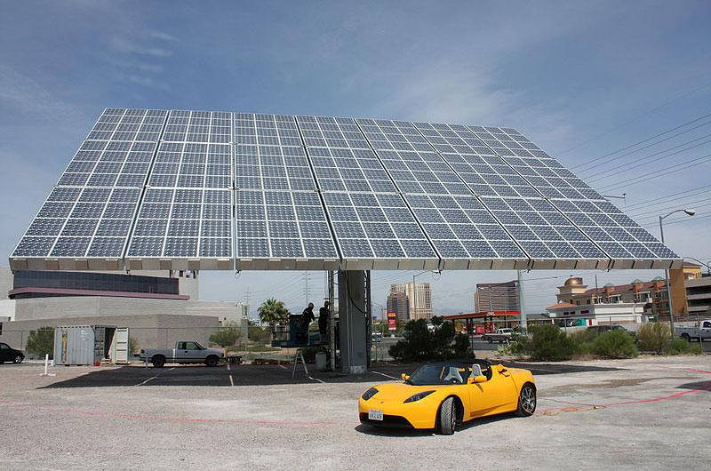 Tesla Concept Electric Station